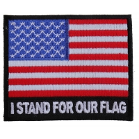 I Stand for Our Flag Patch