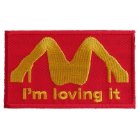 I'm Loving It Patch | Embroidered Patches