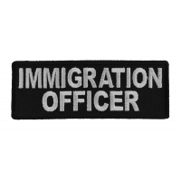 Immigration Officer Patch