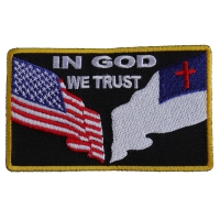 In God We Trust Patch | Embroidered Patches