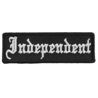 Independent Patch | Embroidered Patches