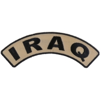 Iraq Small Arm Rocker Patch