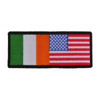 Irish American Flag Patch | Embroidered Patches