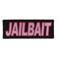 Jailbait Patch | Embroidered Patches