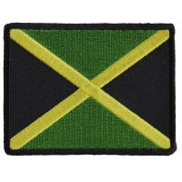 Jamaican Flag Small Patch | Embroidered Patches