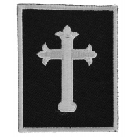 Jesus Cross Small Patch | Embroidered Patches