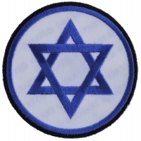 Jewish Star Patch | Embroidered Patches