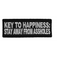 Key To Happiness Patch
