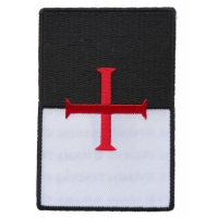 Knights Templar Flag Patch | Embroidered Patches