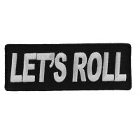 Let's Roll Patch | Embroidered Patches