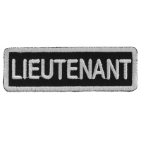 Lieutenant Patch | US Army Military Veteran Patches