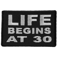 Life Begins at 30 Patch