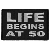Life Begins at 50 Patch