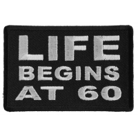 Life Begins at 60 Patch