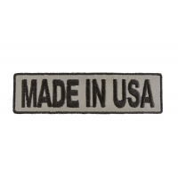 Made In USA Small Reflective Patch | Embroidered Patches