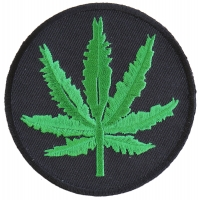 Marijuana Leaf Patch | Embroidered Pot Patches