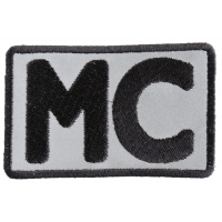 Reflective MC Patch | Embroidered Biker Patches