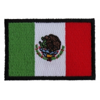 Mexico Flag 2.5 Inch Patch