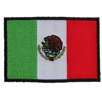 Mexico Flag Patch | Embroidered Patches