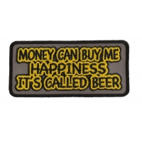 Money Can Buy Me Happiness Its Called Beer Patch