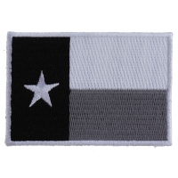 Monochrome Texas Flag Patch