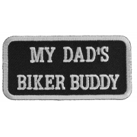 My Dad's Biker Buddy Patch