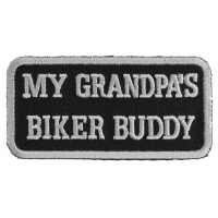 My Grandpa's Biker Buddy Patch