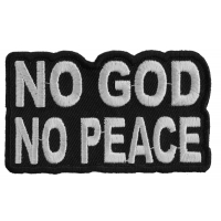 No God No Peace Patch