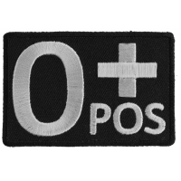 O POSITIVE Blood ID Patch