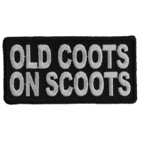 Old Coots On Scoots Patch | US Military Veteran Patches