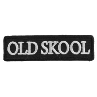 Old Skool Patch | Embroidered Patches