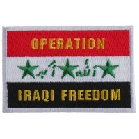 Operation Iraq Freedom Patch | US Iraq War Military Veteran Patches