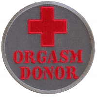 Orgasm Donor Patch | Embroidered Patches