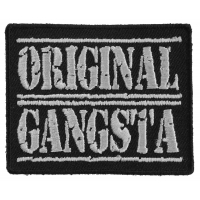 Original Gangsta Patch