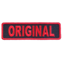 Original Patch In Red