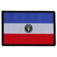 Paraguay Flag Patch