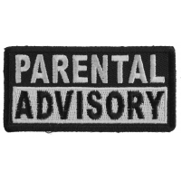 Parental Advisory Patch | Embroidered Patches