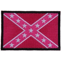 Pink Rebel Flag Patch