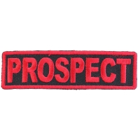 Prospect Patch Red