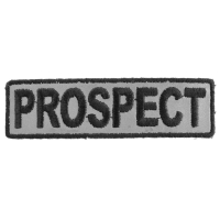 Prospect Patch 3.5 Inch Reflective | Embroidered Patches
