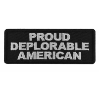 Proud Deplorable American Patch