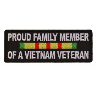 Proud Family Vietnam Vet Patch | US Military Vietnam Veteran Patches