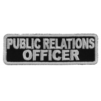 Public Relations Officer Patch