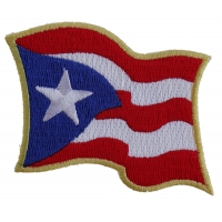 Puerto Rico Flag Patch | Embroidered Patches