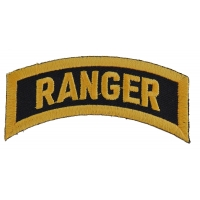 Ranger Rocker Patch | US Army Military Veteran Patches