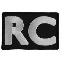 RC Patch White