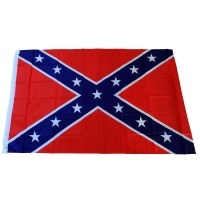 Rebel Flag 5x3 Feet