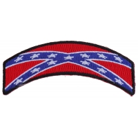 Rebel Flag Rocker Patch | Embroidered Patches
