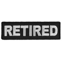 Retired Patch | US Military Veteran Patches