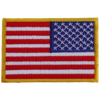 Reversed American Flag Patch | Embroidered Patches